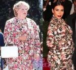                          Mira los memes de Kim Kardashian y su vestido floreado  - Noticias de kim kardashian
