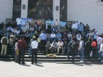 Arequipa: Trabajadores realizaron plantn contra Ley de Servicio Civil - Noticias de ley de servicio civil