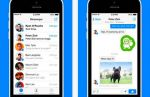 Facebook Messenger se renueva para el iPhone - Noticias de whatsapp