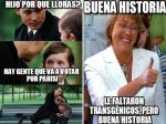 Divertidos memes por elecciones en Chile - Noticias de evelyn coloma