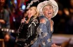 Miley Cyrus y Madonna cantaron juntas en su MTV Unplugged - Noticias de miley cyrus
