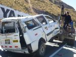 Arequipa: 9 personas heridas en accidente vehicular - Noticias de accidentes vehicular