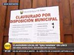 Municipio de Lince clausuró local de Qali Warma - Noticias de programa qali warma