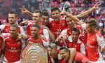 Arsenal goleó 3-0 a Manchester City y se coronó campeón del Community Shield - Noticias de matija nastasic