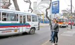 Cústeres no autorizadas tomaron el Corredor Azul - Noticias de accidente de bus