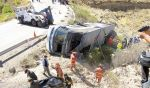 Peatones y choferes son culpables de los accidentes - Noticias de accidente de bus