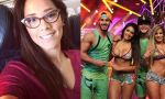 Karen Schwarz confiesa que ve Combate | VIDEO - Noticias de michelle soifer