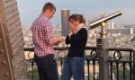 Facebook: protagonistas de propuesta de matrimonio en Torre Eiffel son buscados en red social - Noticias de the wanted