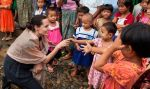 Angelina Jolie visita un refugio de Birmania | FOTOS y VIDEO - Noticias de angelina jolie