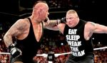 WWE: The Undertaker atacó a Brock Lesnar en el Monday Night Raw  - Noticias de summerslam