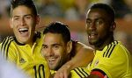James Rodríguez y Radamel Falcao son las cartas de gol de Colombia ante Perú  - Noticias de david villa