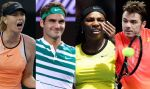 Australian Open: Roger Federer y Serena Williams avanzan en el certamen - Noticias de radek stepanek