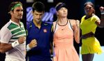 Australian Open regaló partidazos de Djokovic, Federer, Williams y Sharapova  - Noticias de novak djokovic